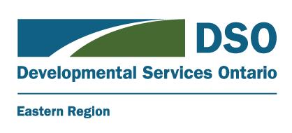 Application DSOER | Service Coordination Support (SCS)