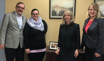 SCS Meeting With Minister Merrilee Fullerton, MPP for Kanata-Carleton and Minister of Long-Term Care