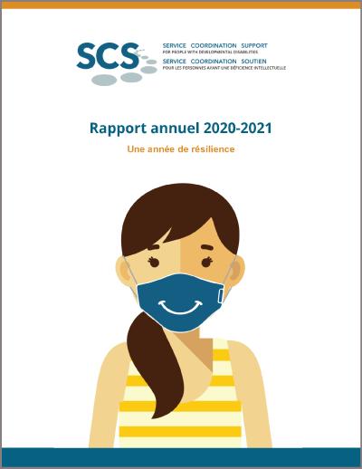 Couverture du rapport annuel 2020-2021