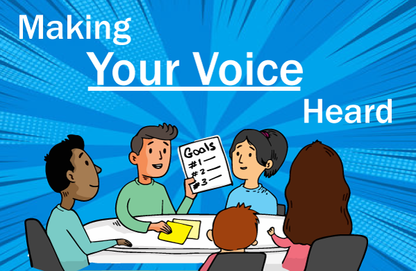 Image for afternoon session Making Your Voice Heard