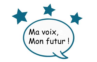 Image du thème de la conférence Ma voix, mon futur!